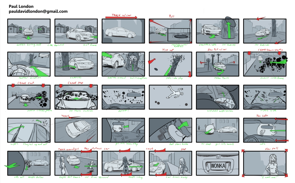 Car Commercial Boards