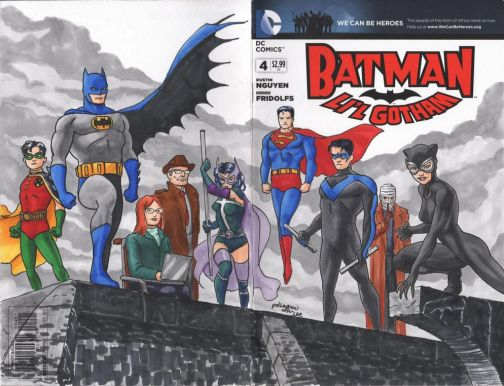 Bat Fam Sketch Cover